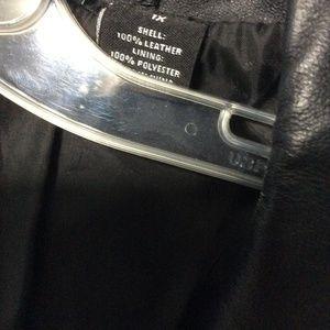 New Directions Jackets & Coats - Plus Size Black Leather Blazer